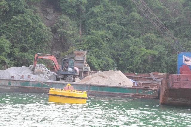 Chưa có đánh giá tác động môi trường, BQL Vịnh Hạ Long vẫn rầm rộ thi công tại vùng lõi di sản - 3