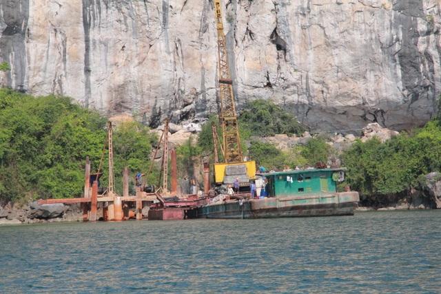 Chưa có đánh giá tác động môi trường, BQL Vịnh Hạ Long vẫn rầm rộ thi công tại vùng lõi di sản - 5