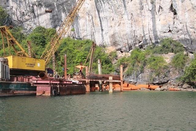 Chưa có đánh giá tác động môi trường, BQL Vịnh Hạ Long vẫn rầm rộ thi công tại vùng lõi di sản - 2