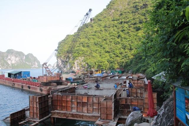 Chưa có đánh giá tác động môi trường, BQL Vịnh Hạ Long vẫn rầm rộ thi công tại vùng lõi di sản - 1