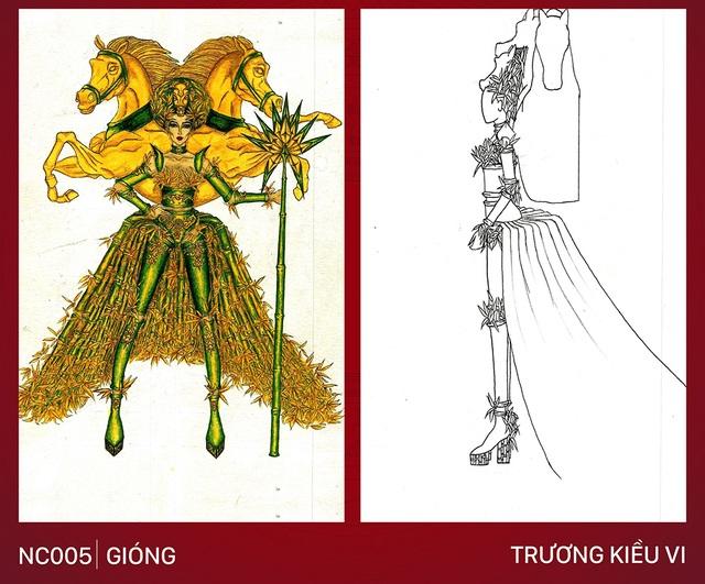 Xích lô, chọi trâu… được thiết kế cho Hoàng Thùy để mang đến Miss Universe 2019? - 6