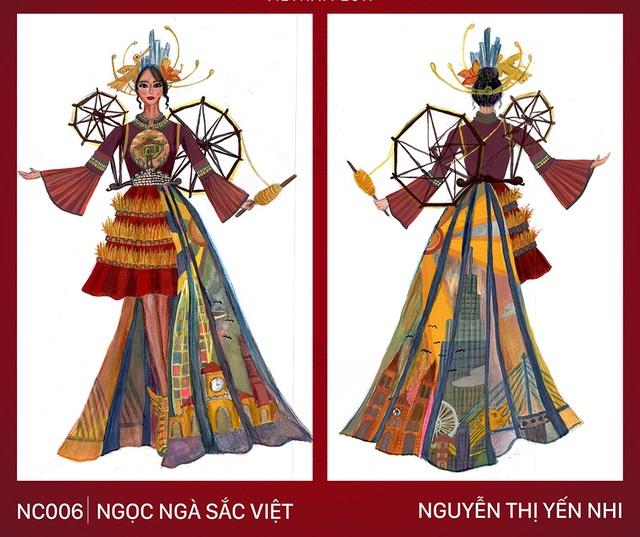 """Thiết kế trang phục """"Bàn thờ"""" cho cuộc thi Hoa hậu Hoàn vũ gây tranh cãi gay gắt - 2"""