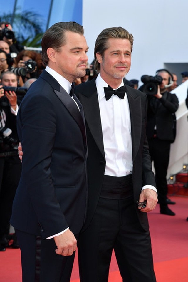 Brad Pitt lịch lãm bên Leonardo DiCaprio - 3