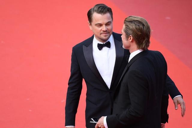 Brad Pitt lịch lãm bên Leonardo DiCaprio - 5