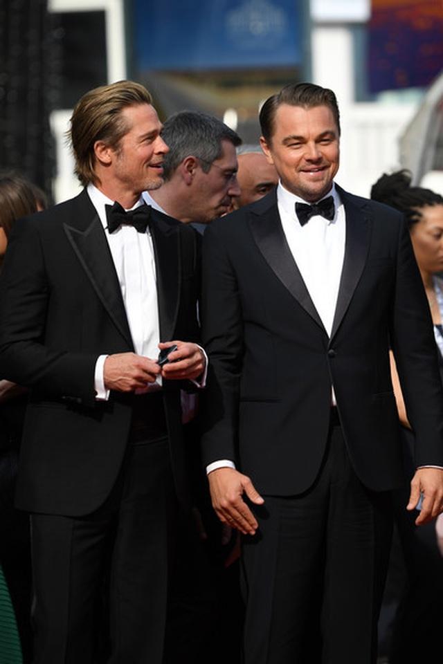 Brad Pitt lịch lãm bên Leonardo DiCaprio - 2