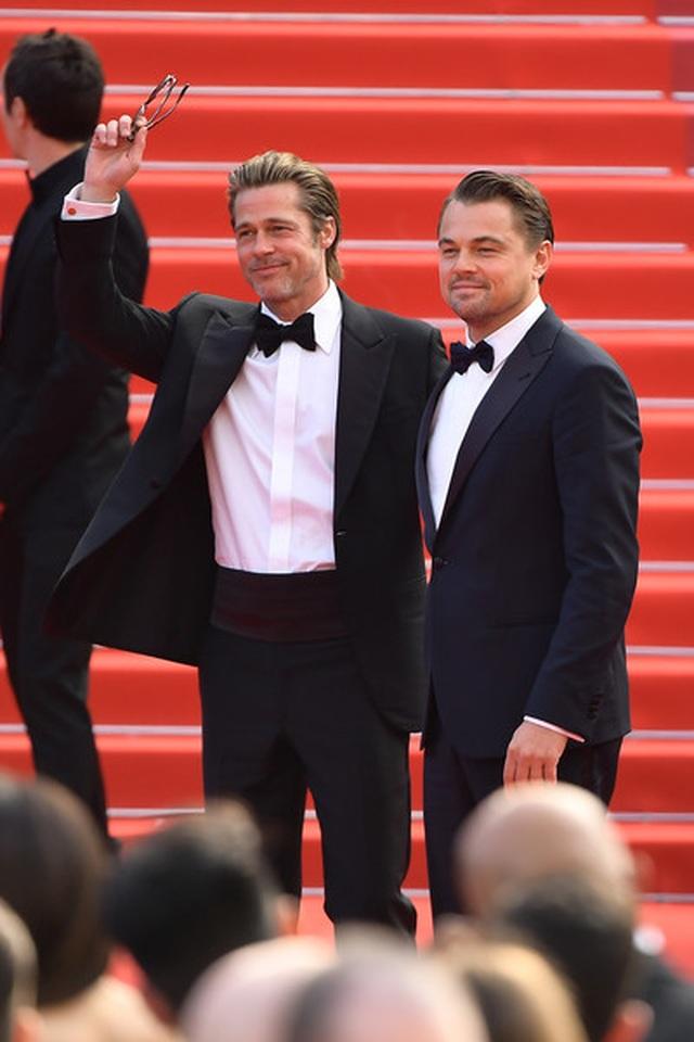 Brad Pitt lịch lãm bên Leonardo DiCaprio - 7