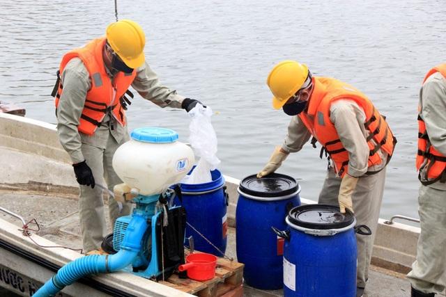Chế phẩm Redoxy-3C cứu 87 hồ ở Hà Nội? - 1