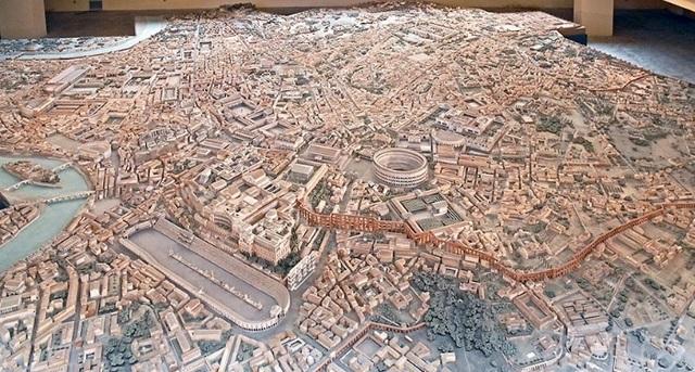 Mô hình thành Rome cổ đại mất 35 năm để làm đẹp đến cỡ nào? - 2