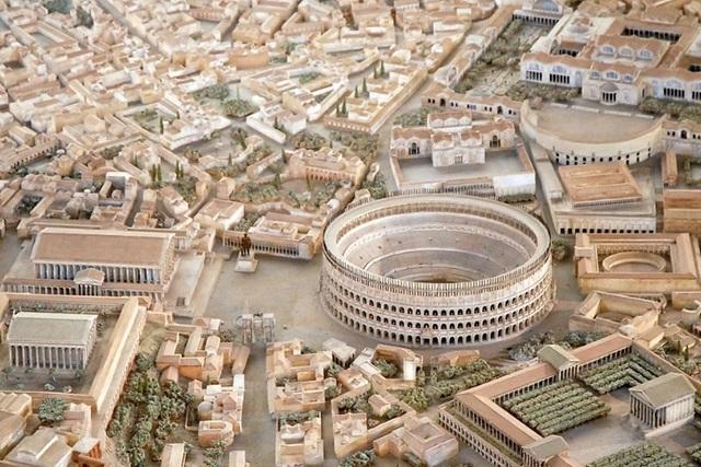 Mô hình thành Rome cổ đại mất 35 năm để làm đẹp đến cỡ nào? - 3
