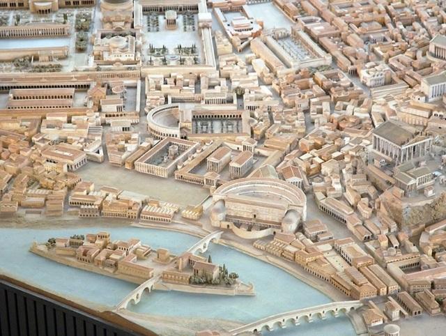 Mô hình thành Rome cổ đại mất 35 năm để làm đẹp đến cỡ nào? - 7