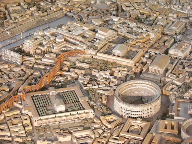 Mô hình thành Rome cổ đại mất 35 năm để làm đẹp đến cỡ nào? - 8