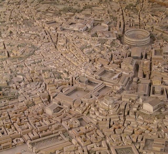 Mô hình thành Rome cổ đại mất 35 năm để làm đẹp đến cỡ nào? - 1