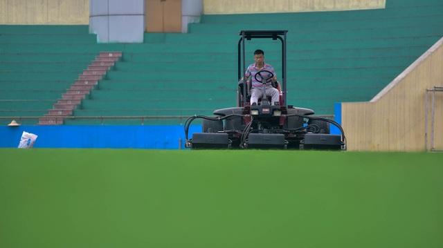 Toàn cảnh SVĐ ở Phú Thọ tổ chức trận giao hữu U23 Việt Nam - U23 Myanmar - 5