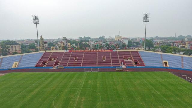 Toàn cảnh SVĐ ở Phú Thọ tổ chức trận giao hữu U23 Việt Nam - U23 Myanmar - 2