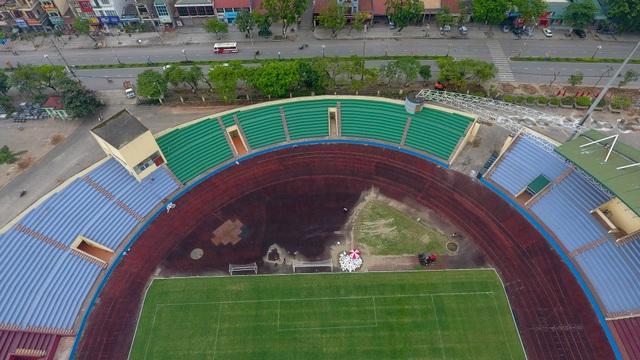 Toàn cảnh SVĐ ở Phú Thọ tổ chức trận giao hữu U23 Việt Nam - U23 Myanmar - 10