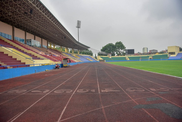 Toàn cảnh SVĐ ở Phú Thọ tổ chức trận giao hữu U23 Việt Nam - U23 Myanmar - 12