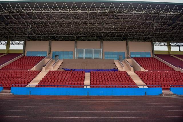 Toàn cảnh SVĐ ở Phú Thọ tổ chức trận giao hữu U23 Việt Nam - U23 Myanmar - 8