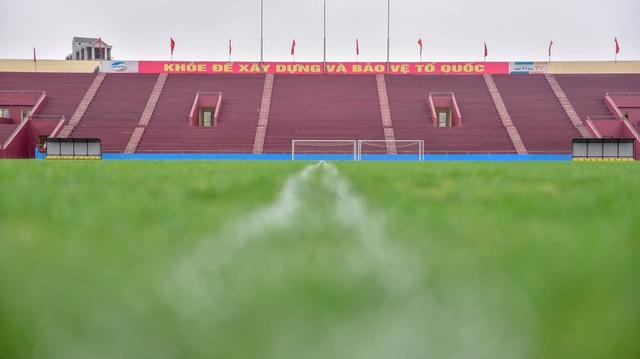 Toàn cảnh SVĐ ở Phú Thọ tổ chức trận giao hữu U23 Việt Nam - U23 Myanmar - 4