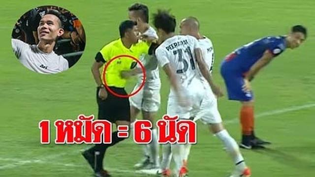 Vì King's Cup, Thái Lan xóa án treo giò cho cầu thủ đấm trọng tài - 1