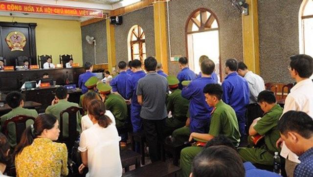 Xét xử 17 nguyên cán bộ, lãnh đạo liên quan sai phạm tại thuỷ điện Sơn La - 1