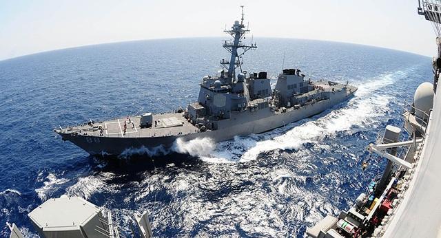 Mỹ điều 2 tàu chiến đi qua eo biển Đài Loan giữa căng thẳng với Trung Quốc - 1