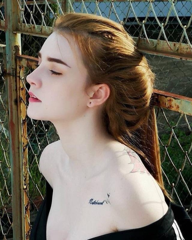 3 kiều nữ xăm Thái Lan: Mặt xinh như búp bê, da dính mực vẫn đẹp nuột nà - 1