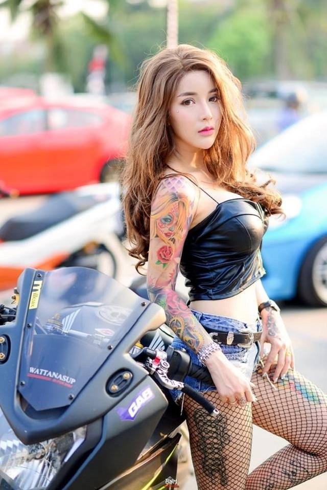 3 kiều nữ xăm Thái Lan: Mặt xinh như búp bê, da dính mực vẫn đẹp nuột nà - 10