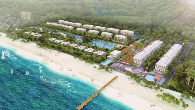 Sức bật của dự án villa, shophouse sát cầu đi bộ ra biển đầu tiên ở phía Nam Việt Nam - 1