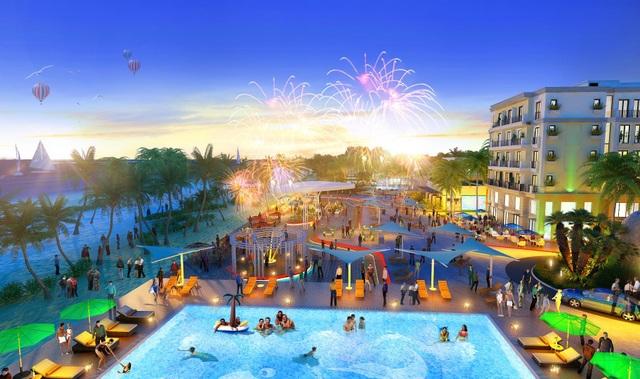Sức bật của dự án villa, shophouse sát cầu đi bộ ra biển đầu tiên ở phía Nam Việt Nam - 2