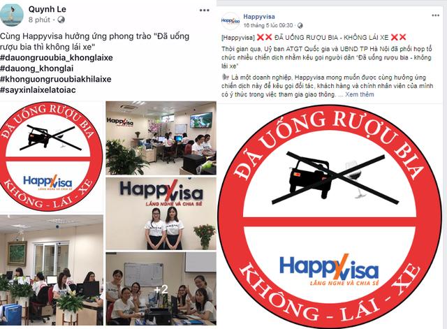 Nhân viên trong công ty cùng chia sẻ trên trang cá nhân của mình đi kèm với hashtag #dauongruoubiakhonglaixe