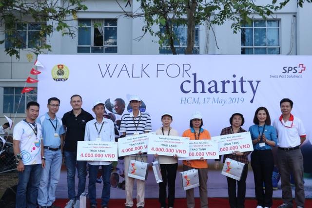"""""""Đi bộ từ thiện"""" - Bước chân vì cộng đồng của Swiss Post Solutions Vietnam - 3"""