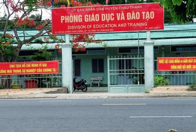 Kê khống giấy thi, Trưởng phòng Giáo dục bị kỷ luật cảnh cáo - 1
