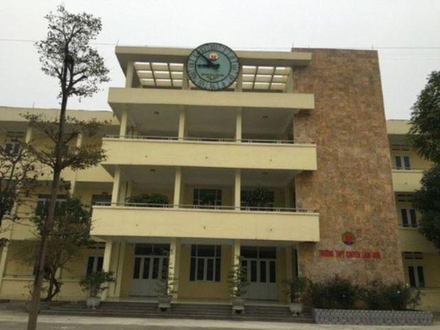 Xem xét xử lý kỷ luật hiệu trưởng, các phó hiệu trưởng trường chuyên Lam Sơn - 1