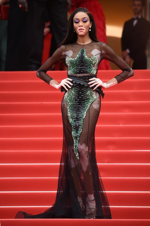Không nghiện khoe thân, Trương Thị May kín đáo trên thảm đỏ Cannes cùng Leonardo Dicaprio - 5