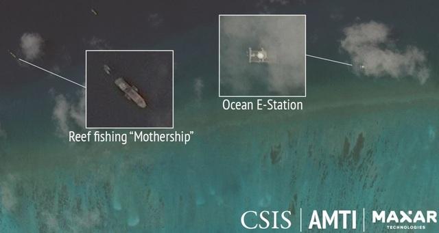 """""""Đội tàu hủy diệt"""" của Trung Quốc khai thác ồ ạt, tàn phá môi trường Biển Đông - 1"""