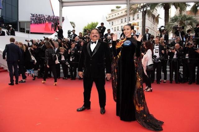 Không nghiện khoe thân, Trương Thị May kín đáo trên thảm đỏ Cannes cùng Leonardo Dicaprio - 8