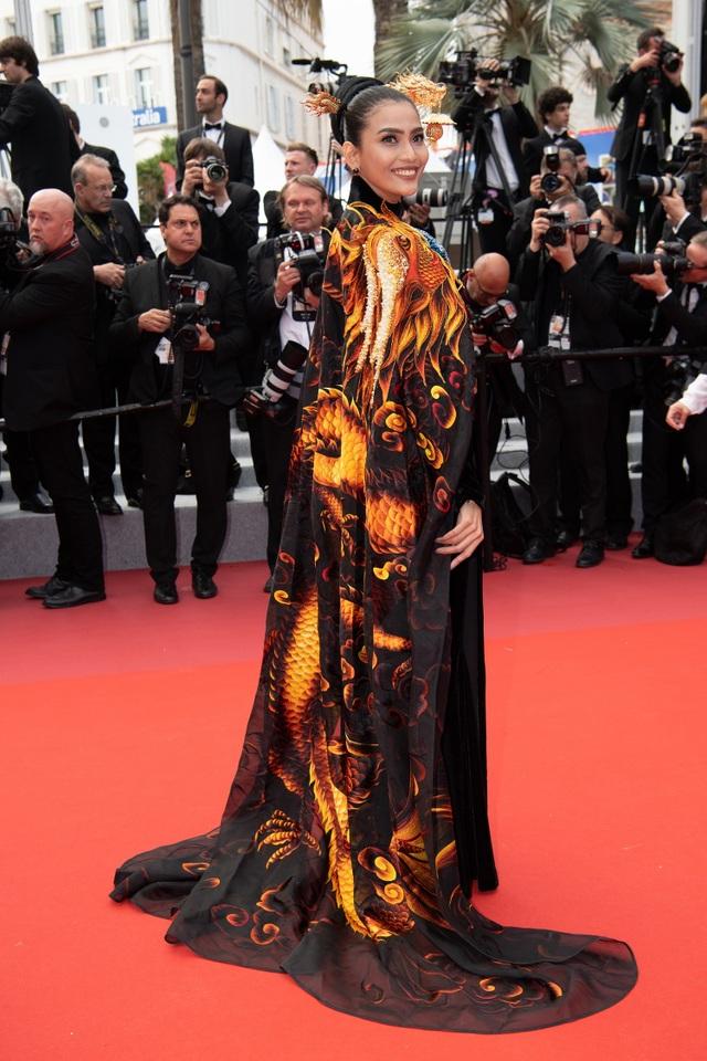 Không nghiện khoe thân, Trương Thị May kín đáo trên thảm đỏ Cannes cùng Leonardo Dicaprio - 10