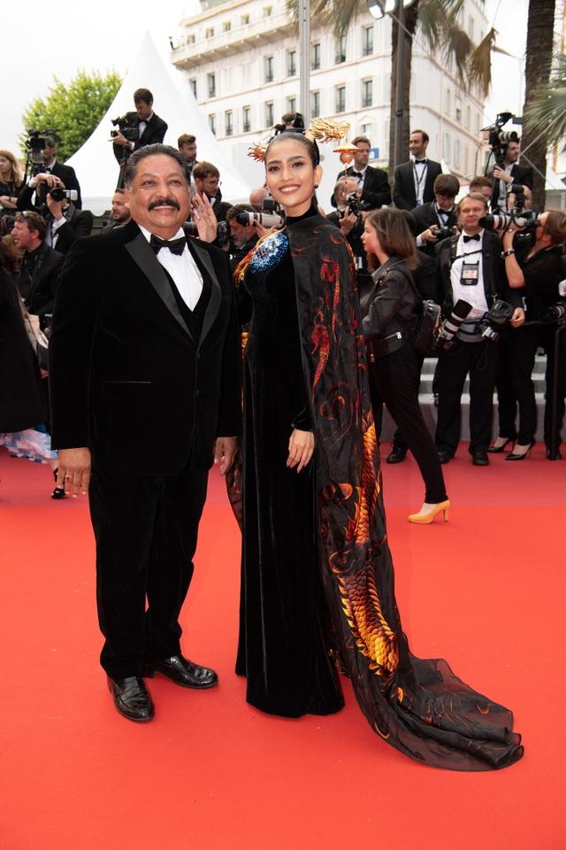 Không nghiện khoe thân, Trương Thị May kín đáo trên thảm đỏ Cannes cùng Leonardo Dicaprio - 6