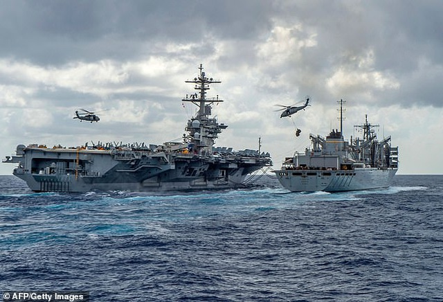 """Lầu Năm Góc yêu cầu điều thêm quân nhân tới Trung Đông """"nắn gân"""" Iran - 1"""