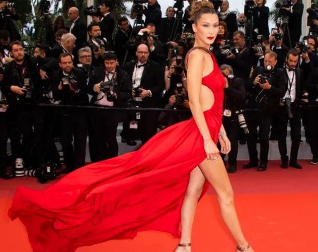 Khi người đẹp chuộng váy đỏ tại Cannes - 5