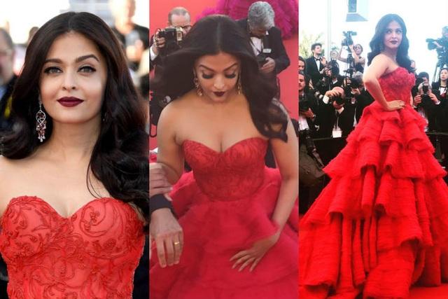 Khi người đẹp chuộng váy đỏ tại Cannes - 17