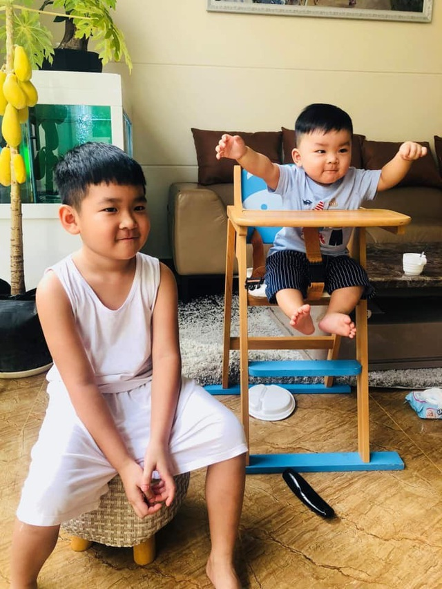 Diệp Bảo Ngọc dạy con trai yêu thương con riêng của chồng cũ - 7