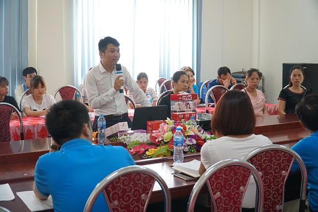 Dự án chăm sóc sức khỏe phụ nữ đến với người lao động tỉnh Vĩnh Phúc - 3
