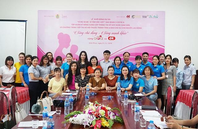 """Ngày 21/05/2019, Lễ khởi động dự án """"Vì mẹ và bé - Vì tầm vóc Việt"""" đã diễn ra tại KCN Khai Quang (tỉnh Vĩnh Phúc)."""