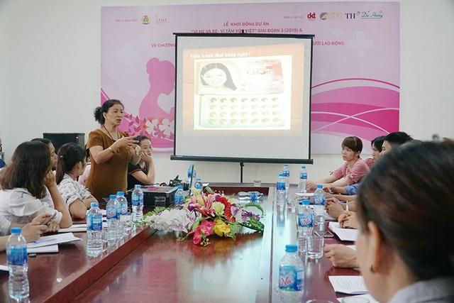 Dự án chăm sóc sức khỏe phụ nữ đến với người lao động tỉnh Vĩnh Phúc - 2