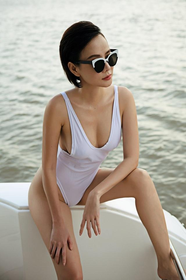 Dương Yến Ngọc diện bikini táo bạo, khoe vóc dáng gợi cảm tuổi 40 - 5