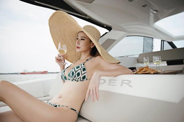 Dương Yến Ngọc diện bikini táo bạo, khoe vóc dáng gợi cảm tuổi 40 - 4