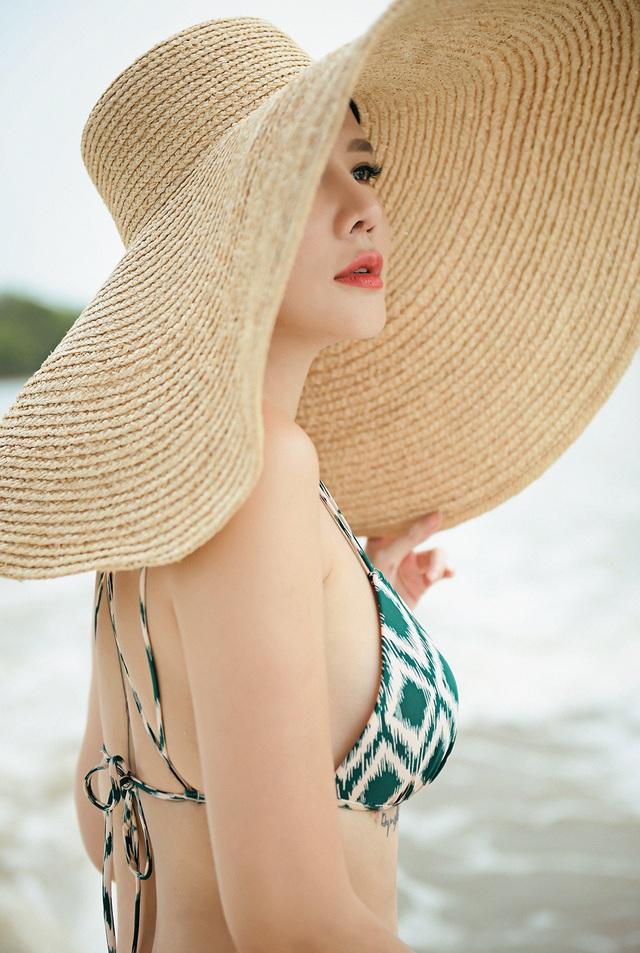 Dương Yến Ngọc diện bikini táo bạo, khoe vóc dáng gợi cảm tuổi 40 - 6