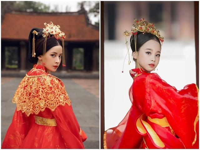 """Bé gái 8 tuổi """"gây sốt"""" trong bộ ảnh cover """"Anh ơi ở lại"""" của Chi Pu - 1"""