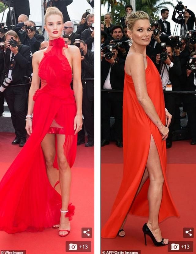 Khi người đẹp chuộng váy đỏ tại Cannes - 14